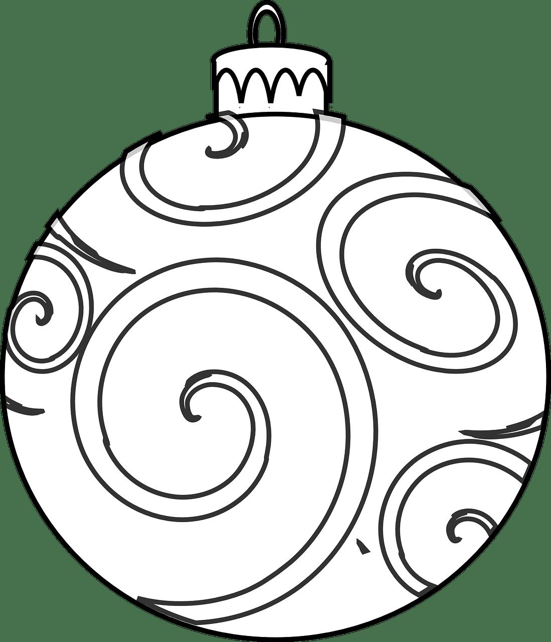 Colour and design your. Ornaments clipart printer