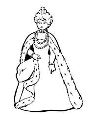 King and colouring in. Coloring clipart queen