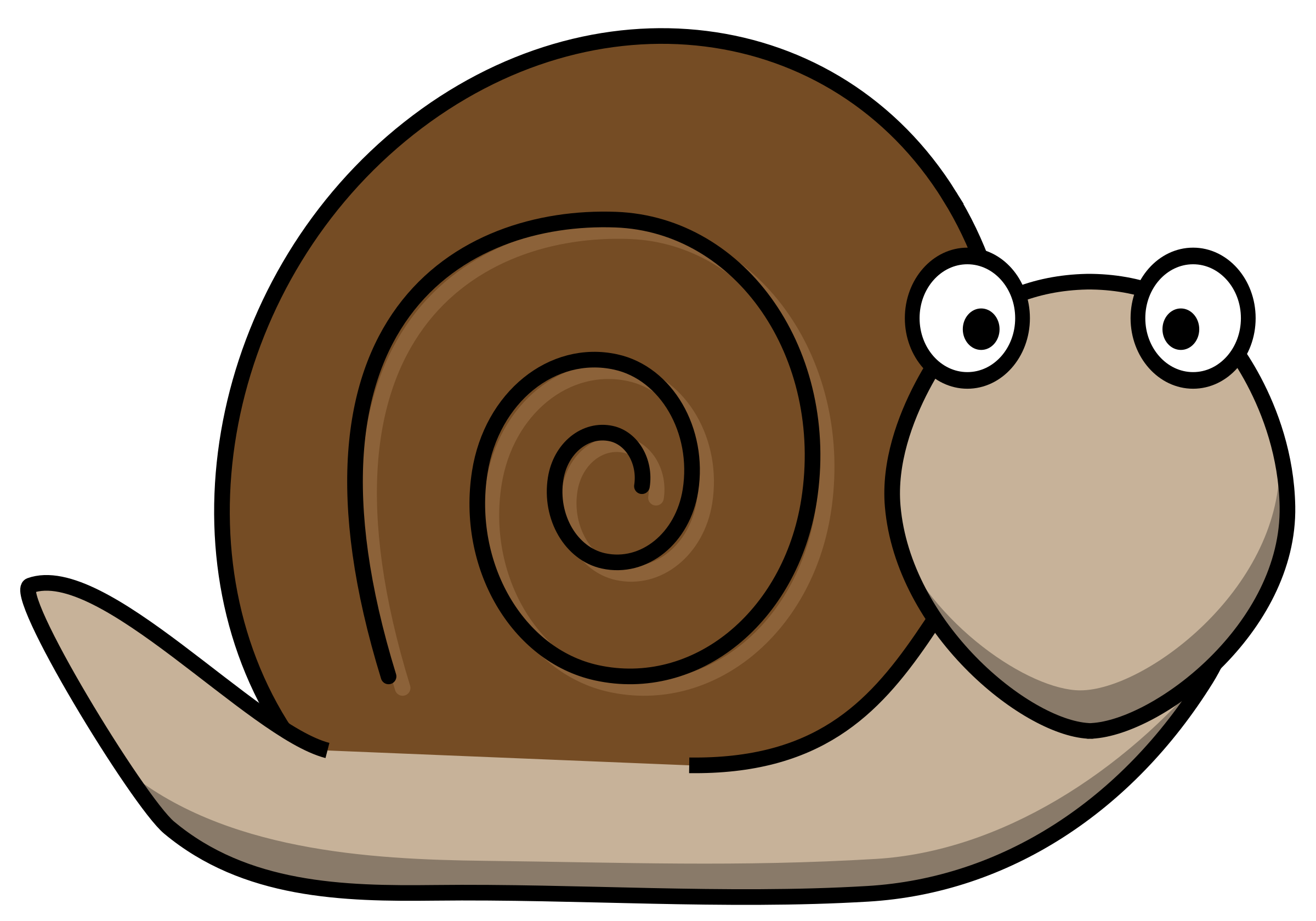 By hatso in the. Woodland clipart snail