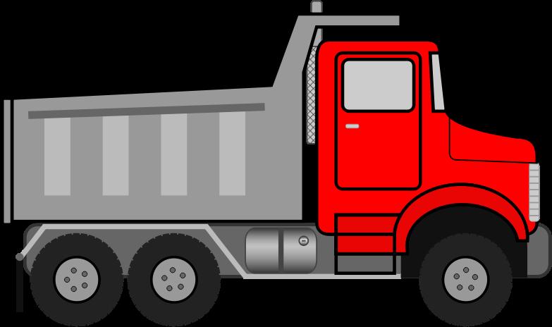Firetruck clipart animated. Dump truck medium image