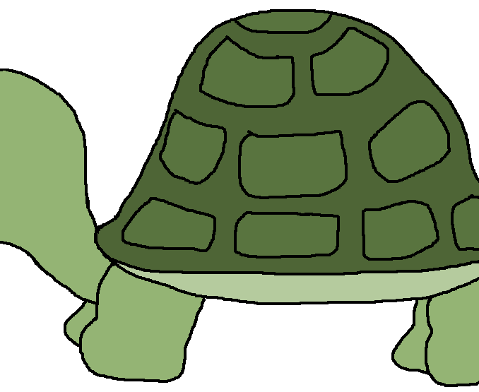 Coloring clipart turtle. Clip art free download