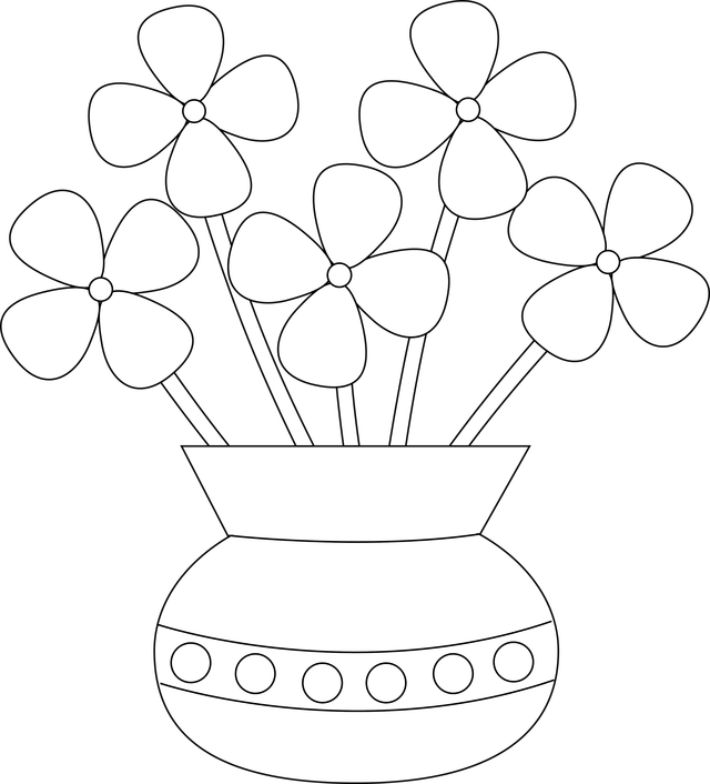 collection of flower. Draw clipart drawing