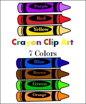 Crayons clip art by. Colors clipart