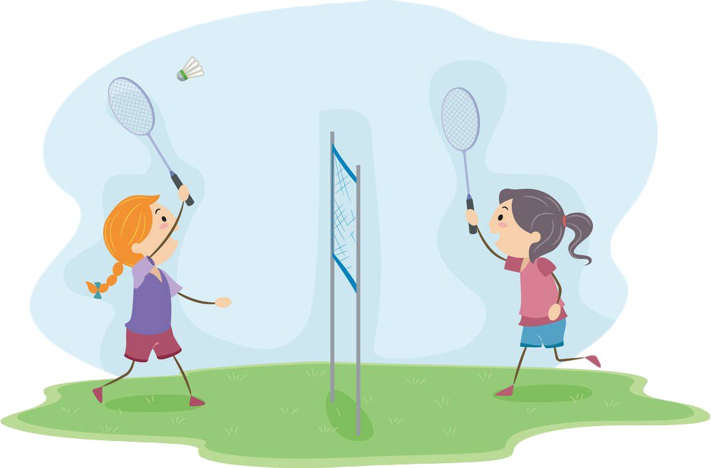 Movement clipart physical play. Badminton clip art hand