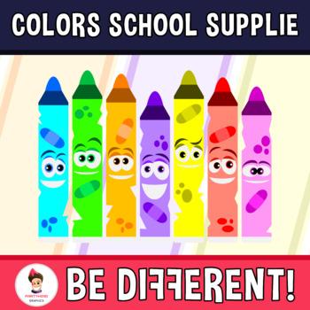Art . Colors clipart basic