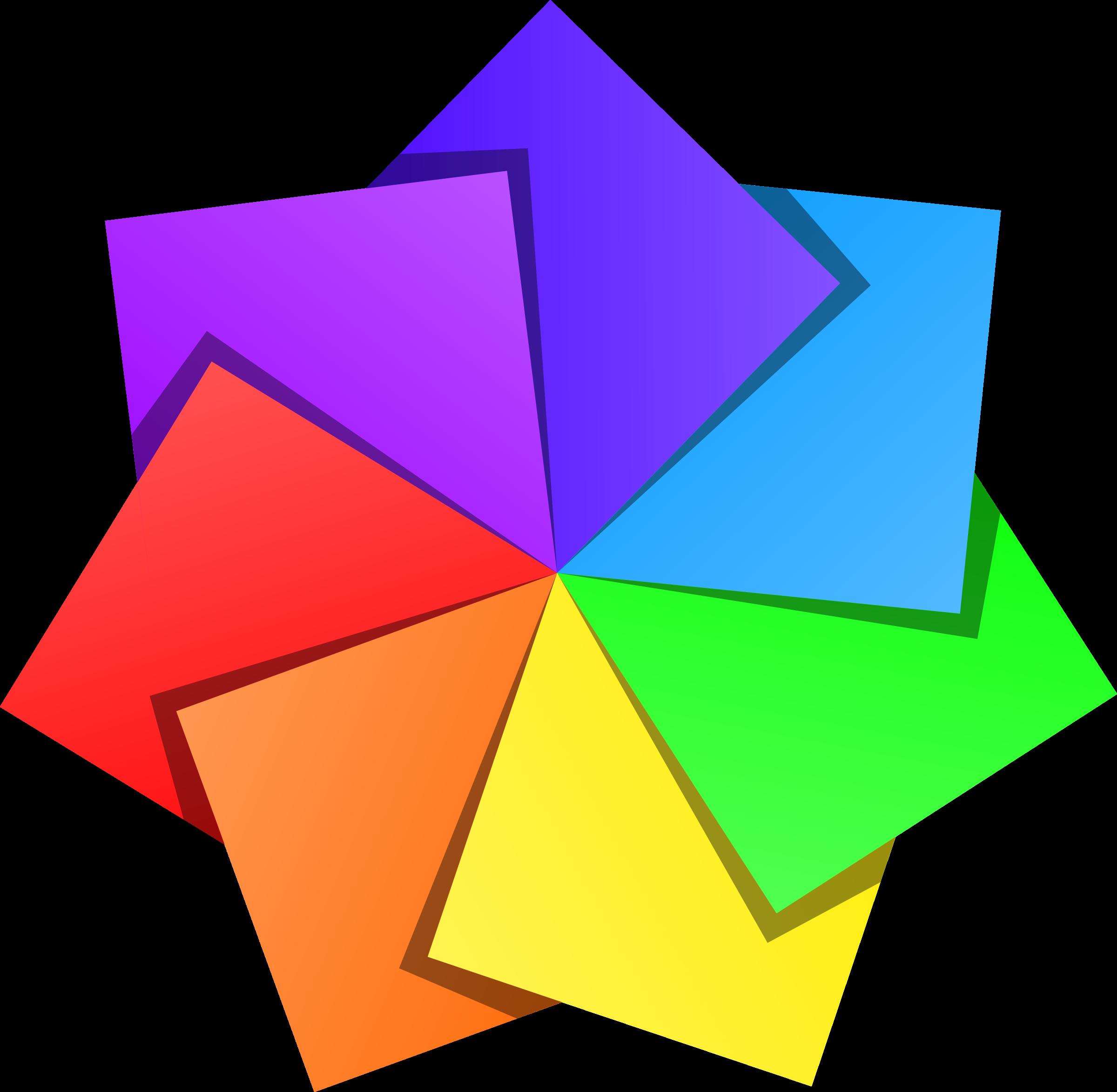 Colors clipart basic. Color star big image
