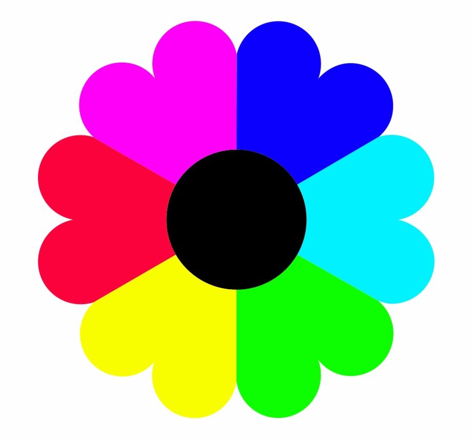 Colors clipart flower. Clip art coral flowers