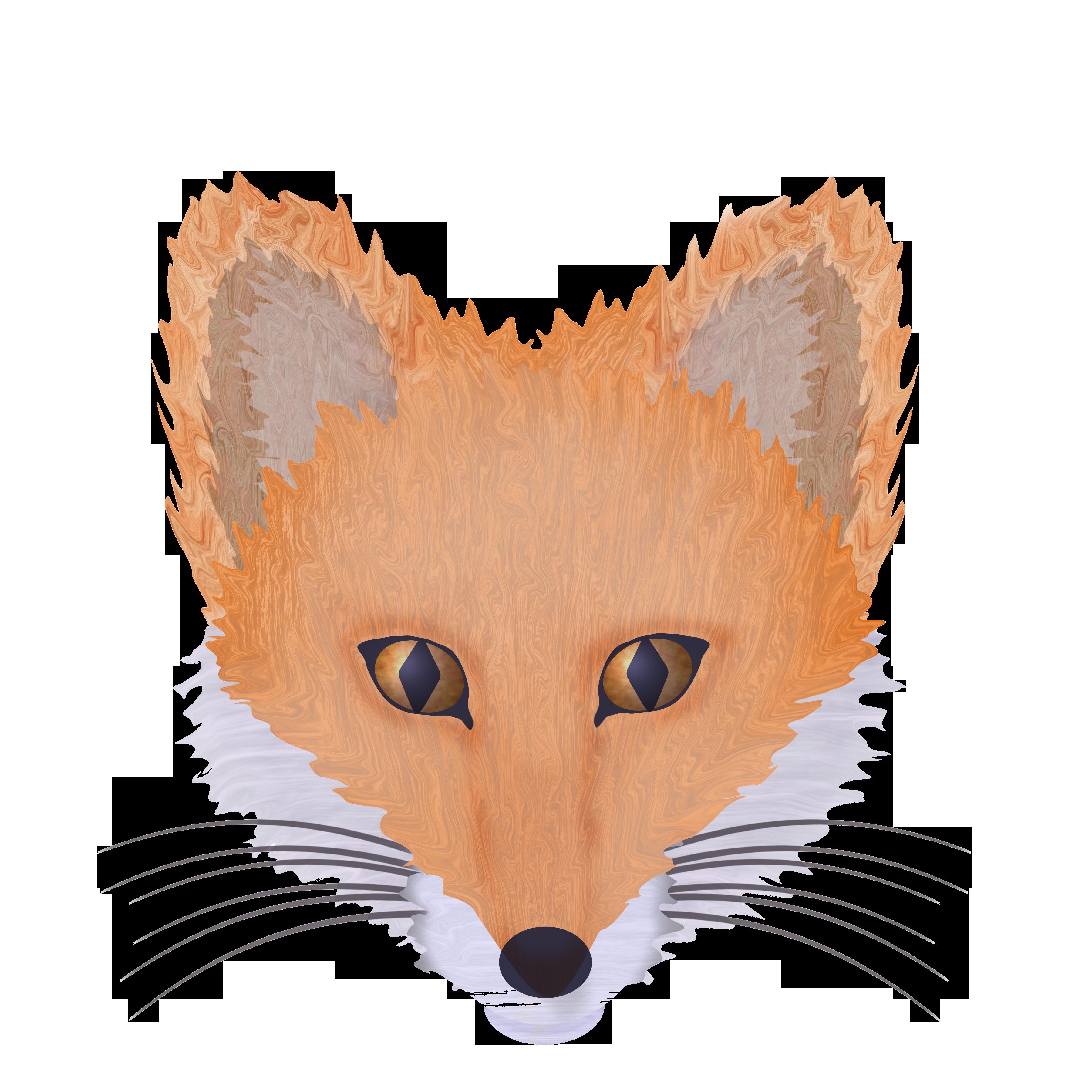 Colors clipart fox. Summer washi tape clip