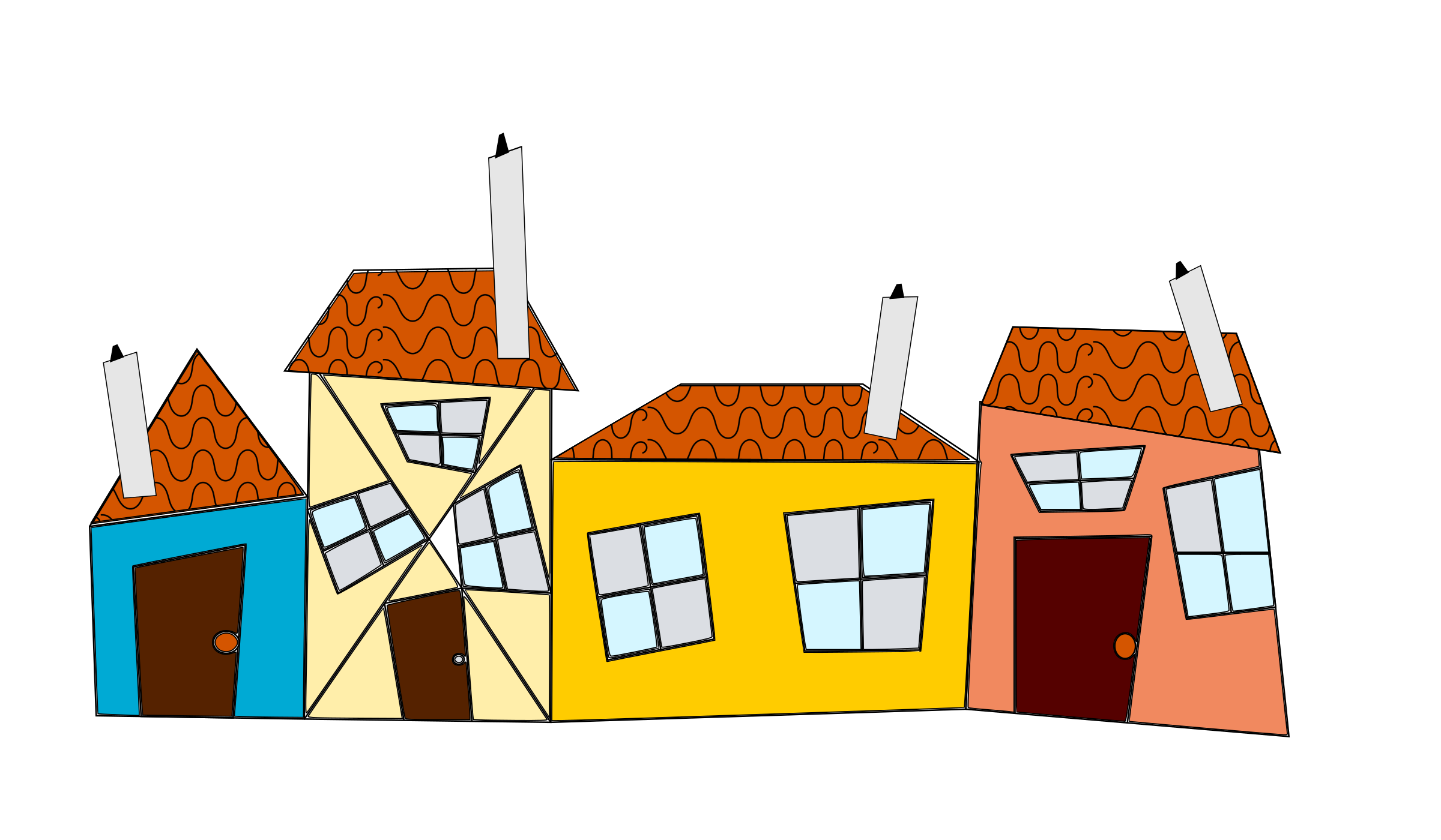 Crazy houses icons png. Up clipart house
