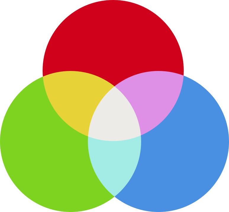 Web design color theory. Colors clipart hue