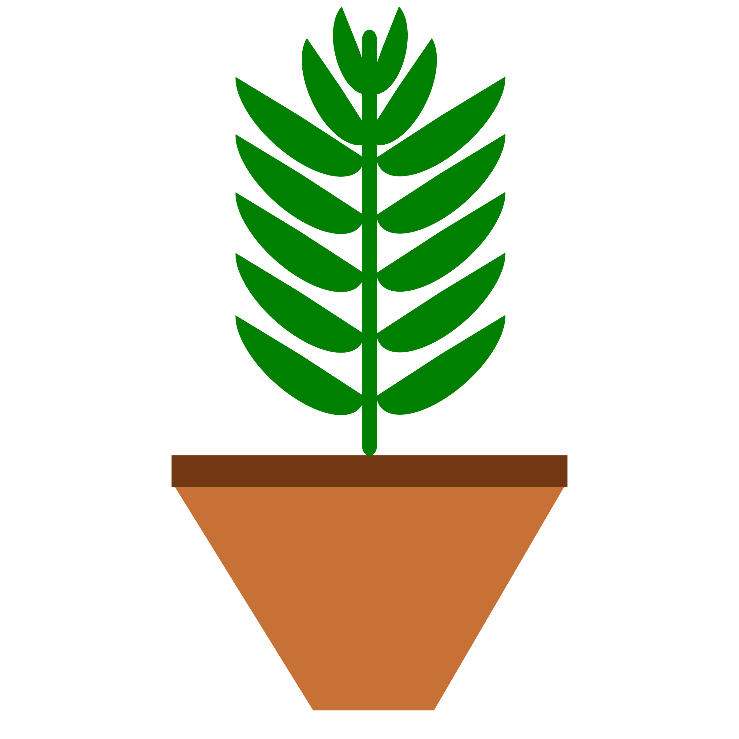 Leaves only color with. Plant clipart potted plant