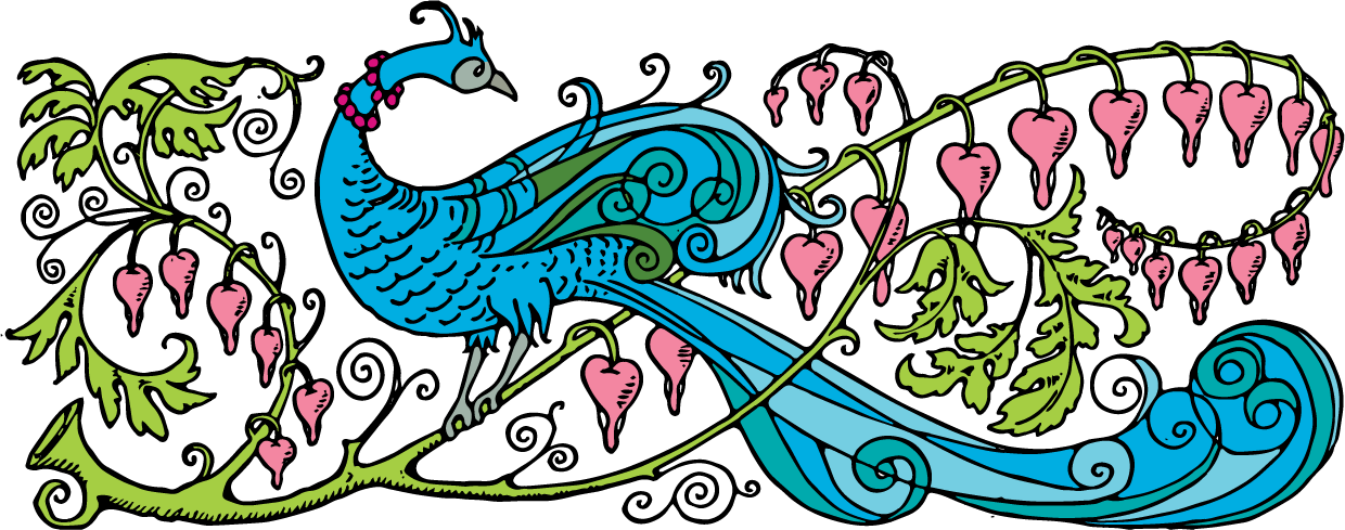 Peacock clipart vintage. Free stock vector prince