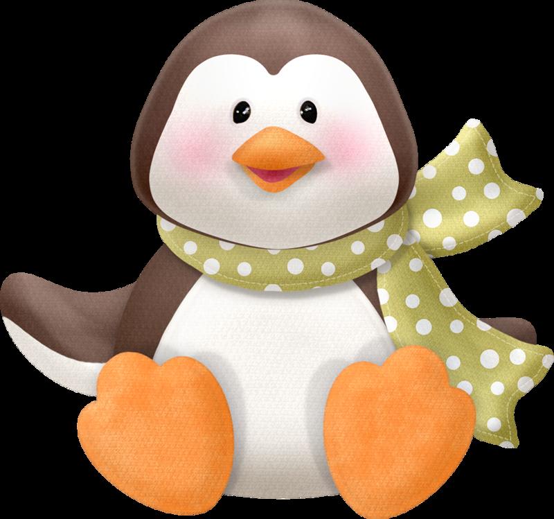 unique clip arts. Colors clipart penguin
