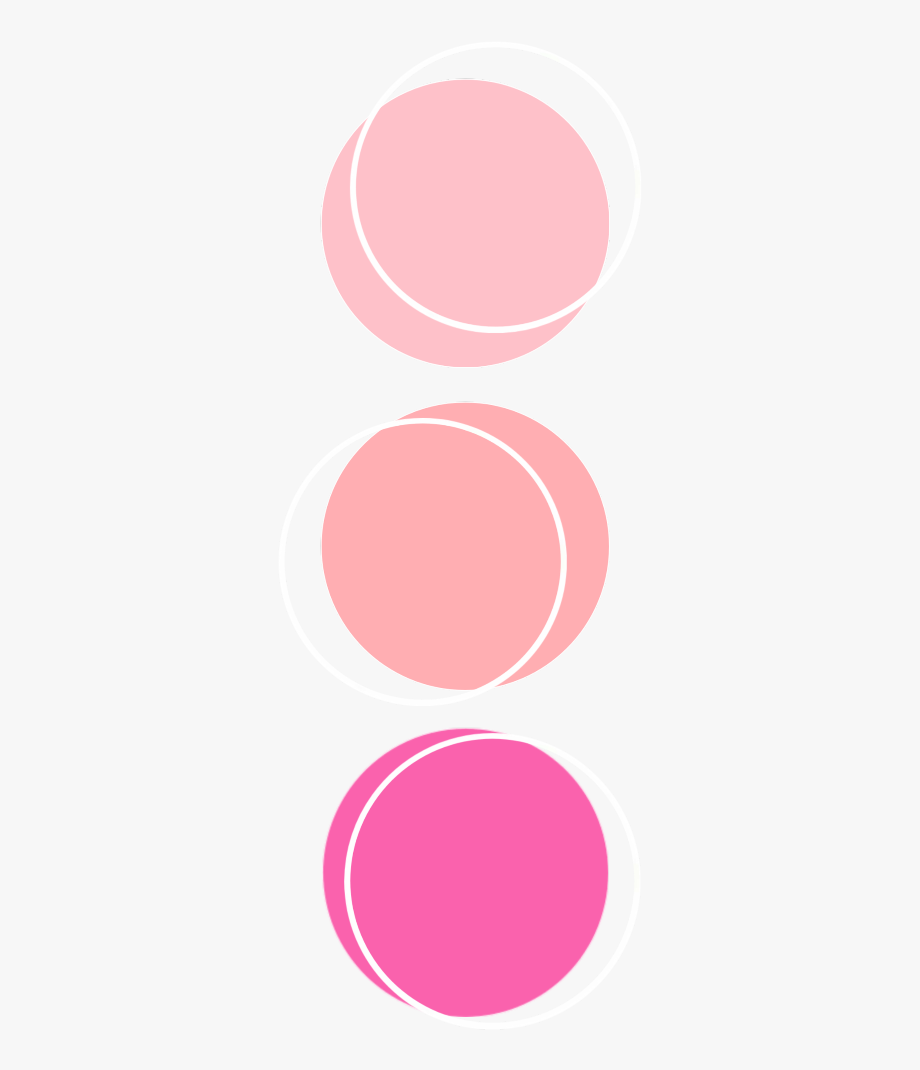 Color palette anatomy aesthetic. Colors clipart pink