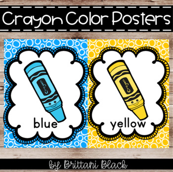 Colors clipart poster. Color posters crayons worksheets