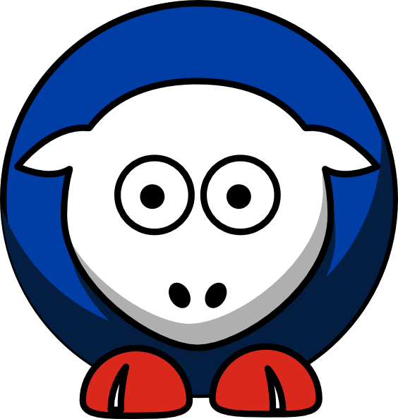 Sheep toronto blue jays. Colors clipart silver