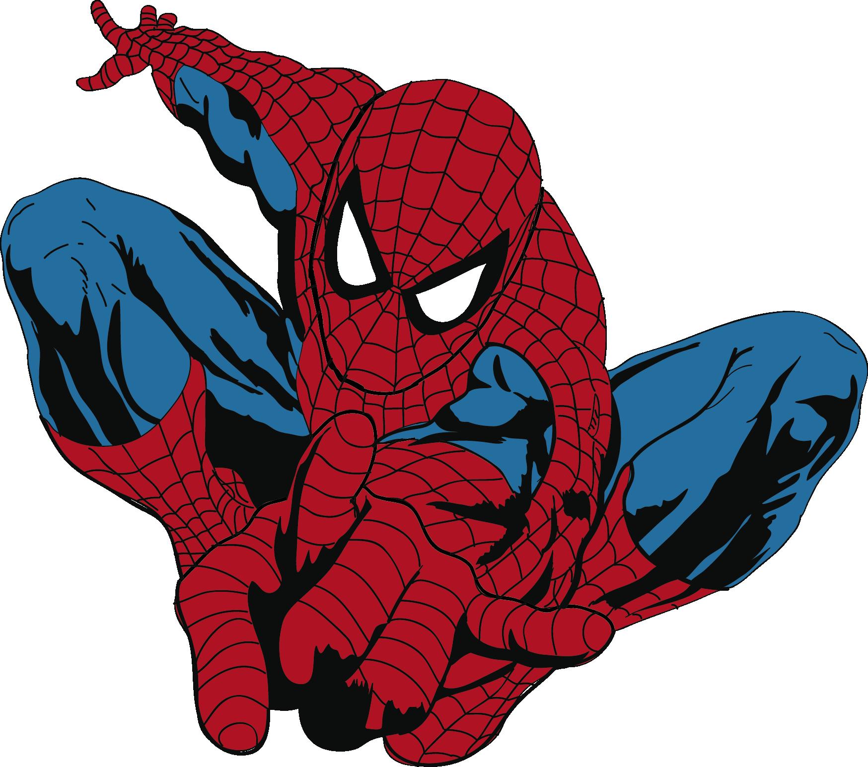 Vector vectores pinterest spider. Hand clipart spiderman