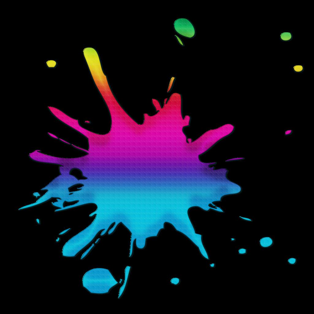 colors clipart splash