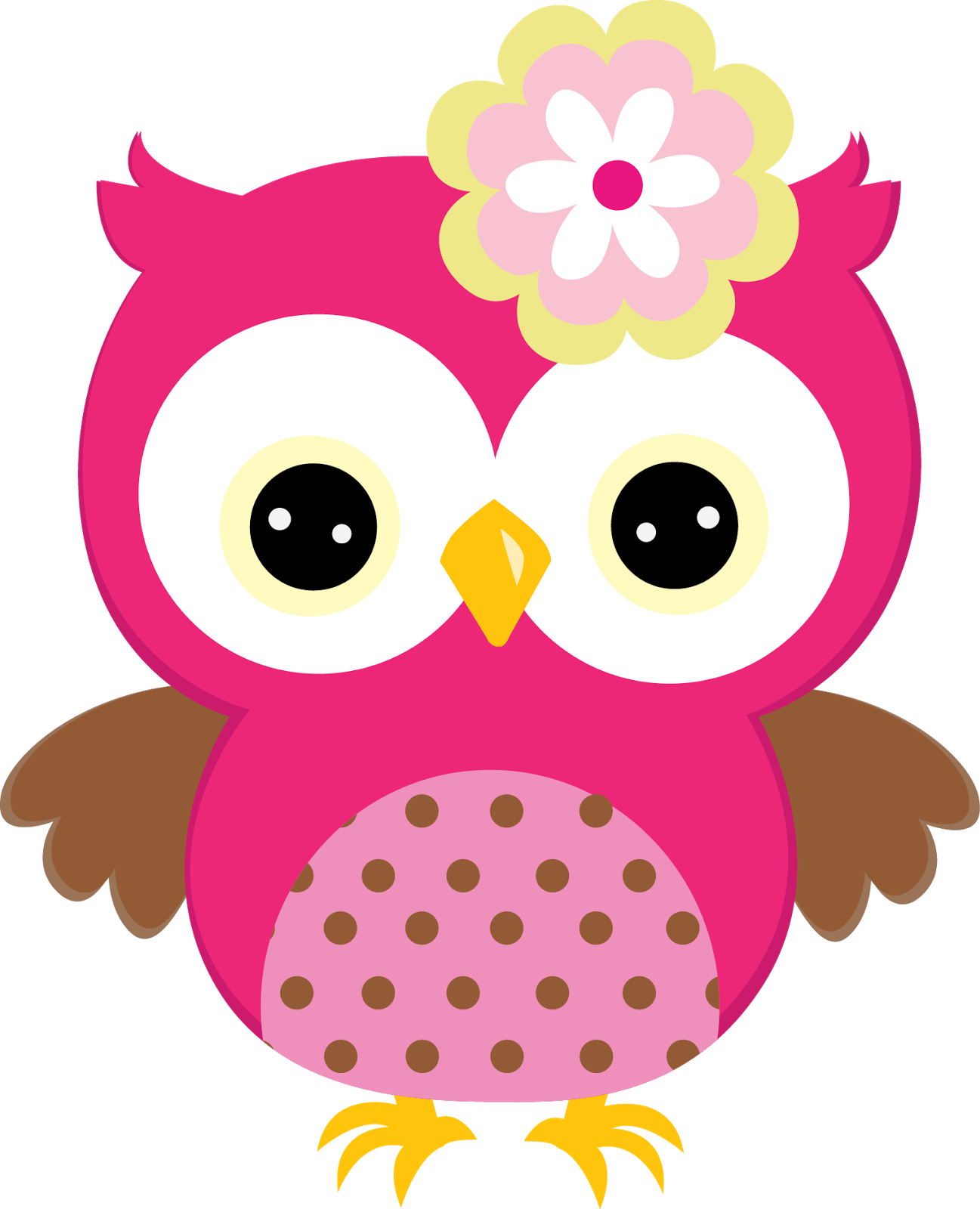 Sweet in colors oh. Owls clipart spring