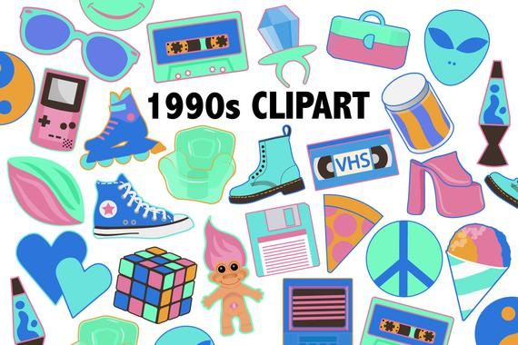 s neon toys. Colors clipart toy