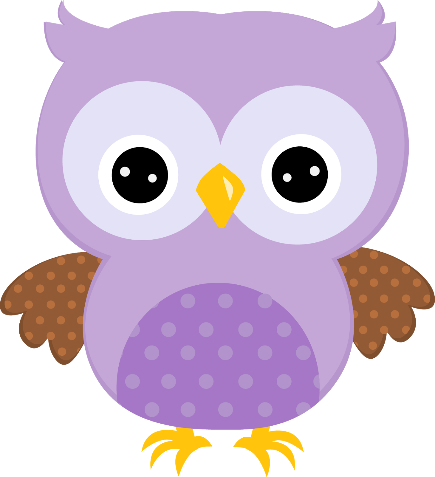 Colors clipart violet. Sweet owls in oh