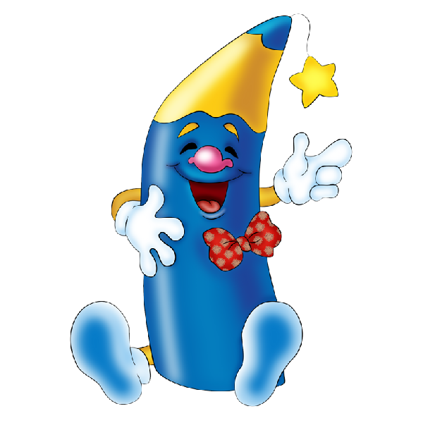 Crayons clipart picture frame. Blue crayon awesome running