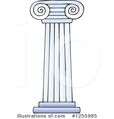 Pillar illustration by visekart. Column clipart