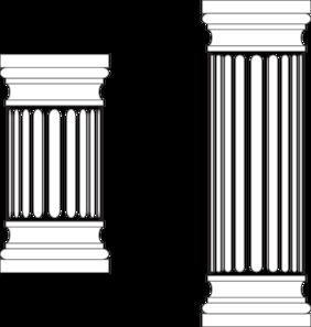 Marble columns clip art. Column clipart