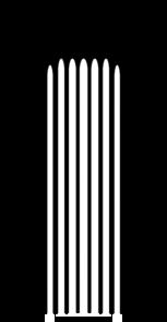 Ionic bare clip art. Column clipart