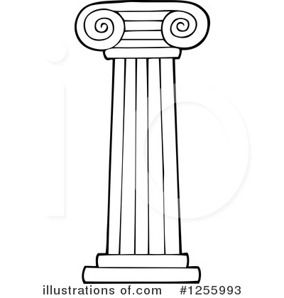 Pillar group illustration by. Column clipart
