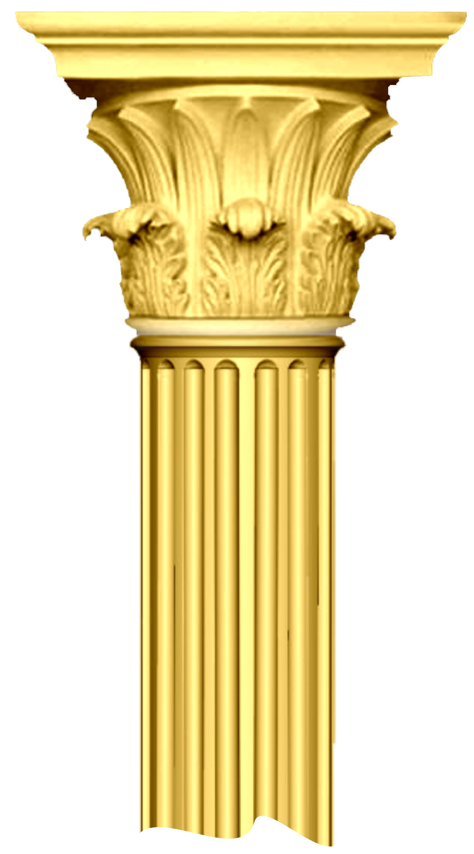 Column clipart. Broken free images at