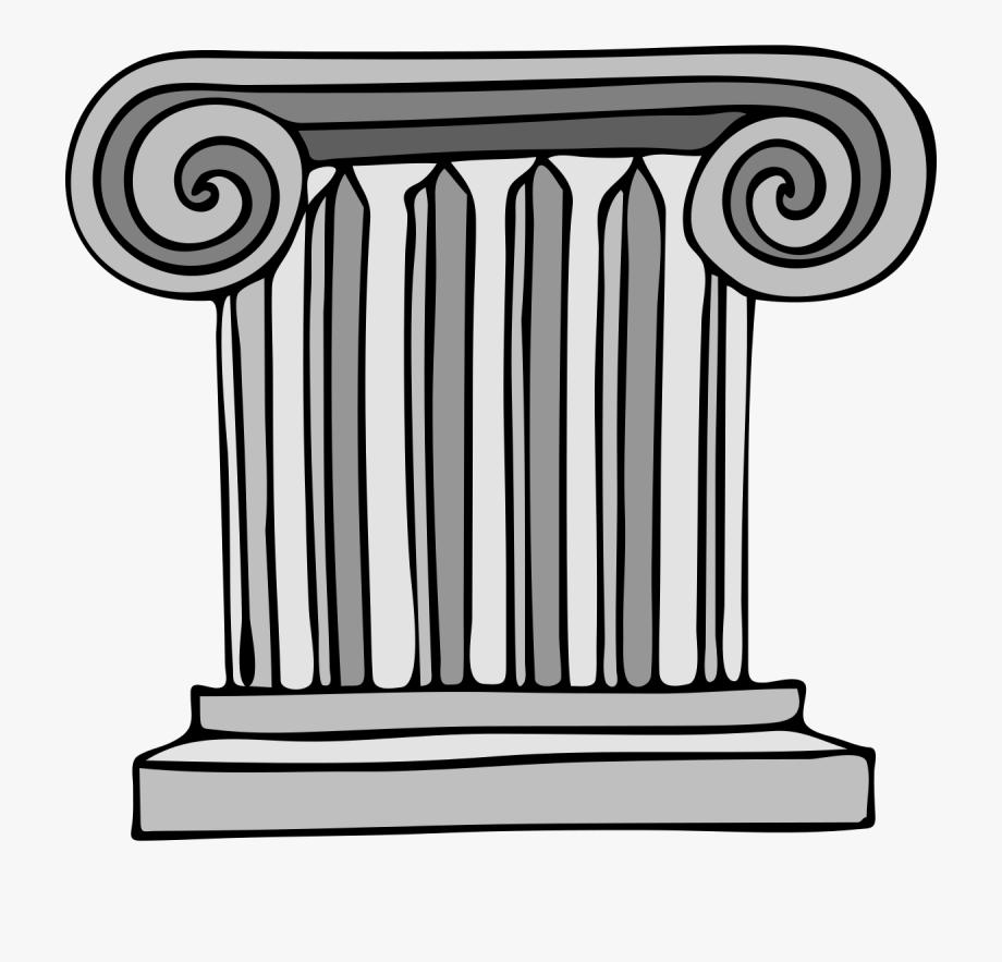 Greek clipart clip art. Roman columns free cliparts