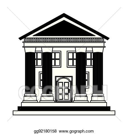 Column clipart building rome. Vector illustration roman columns