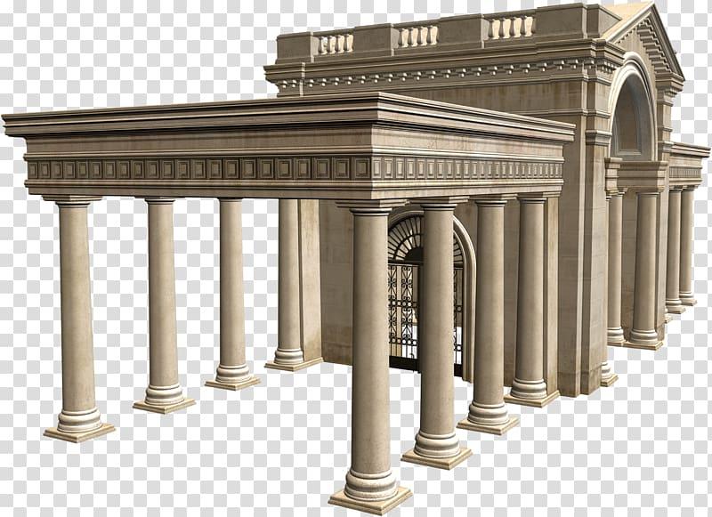 Column clipart building rome. Architecture palace transparent background