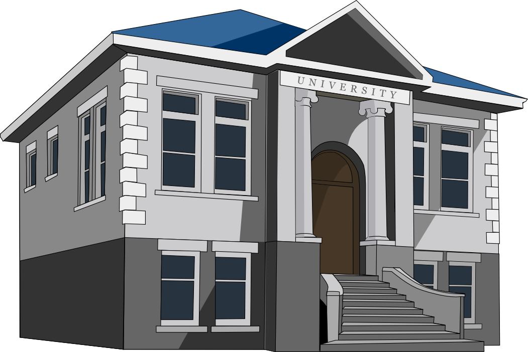 collection of university. Column clipart buliding