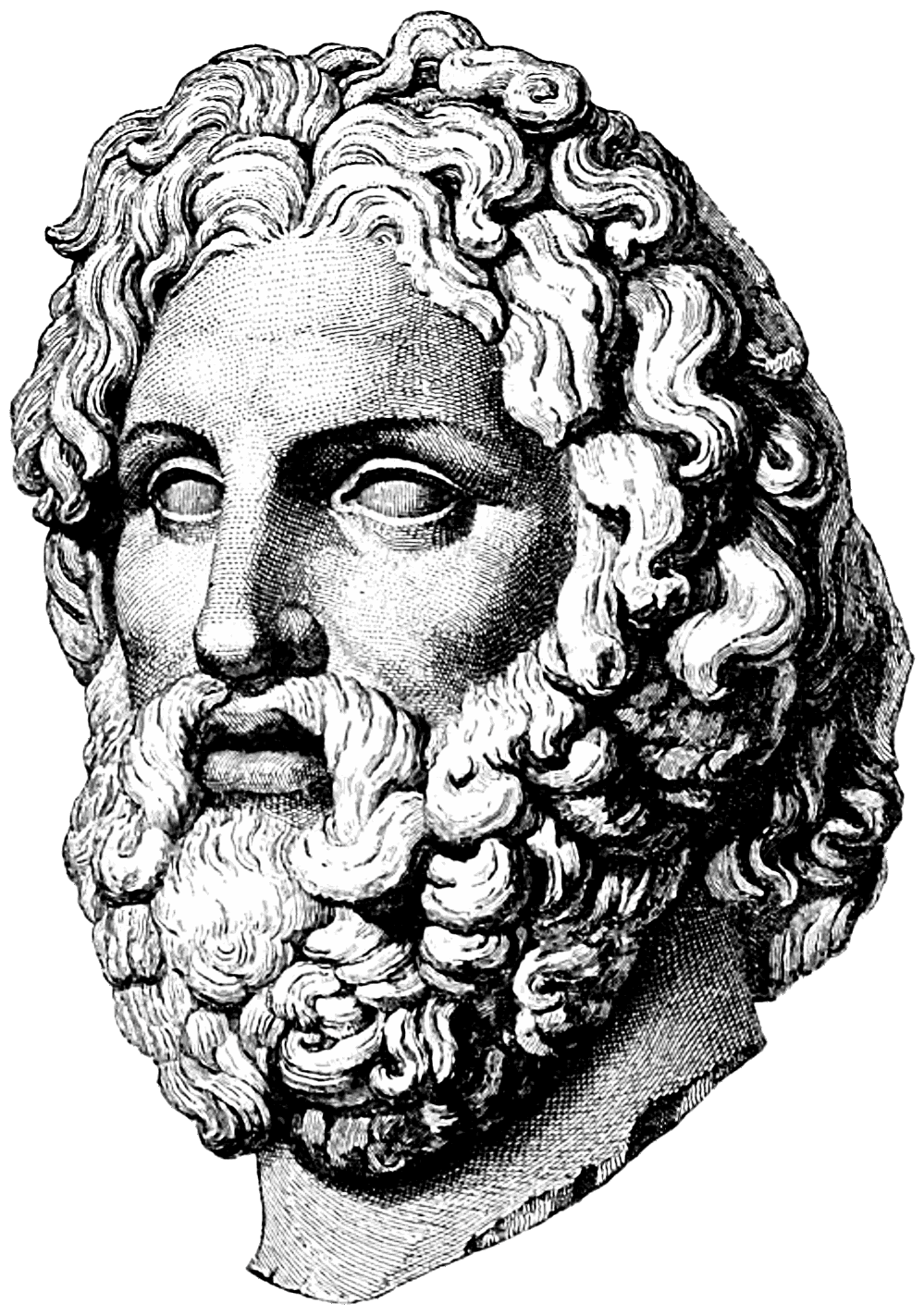 Asclepius s kli pi. Column clipart bust roman
