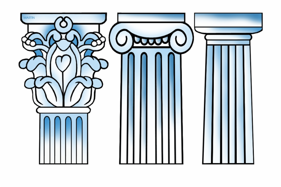 Download for free png. Column clipart drawn