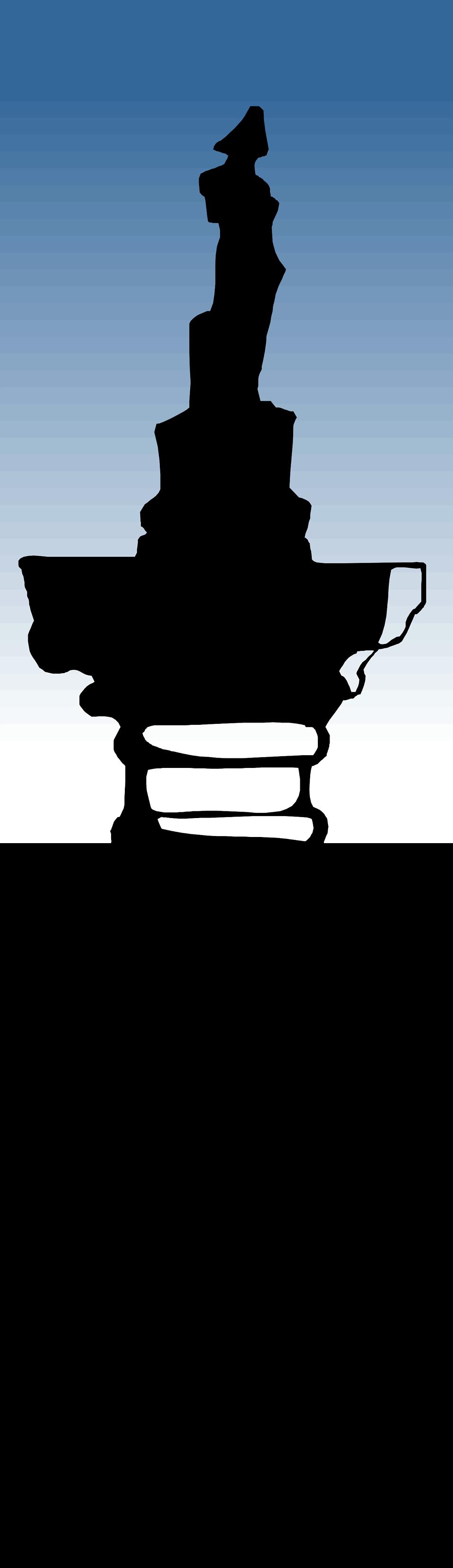 Column clipart free vector. Nelsons stock photo illustration