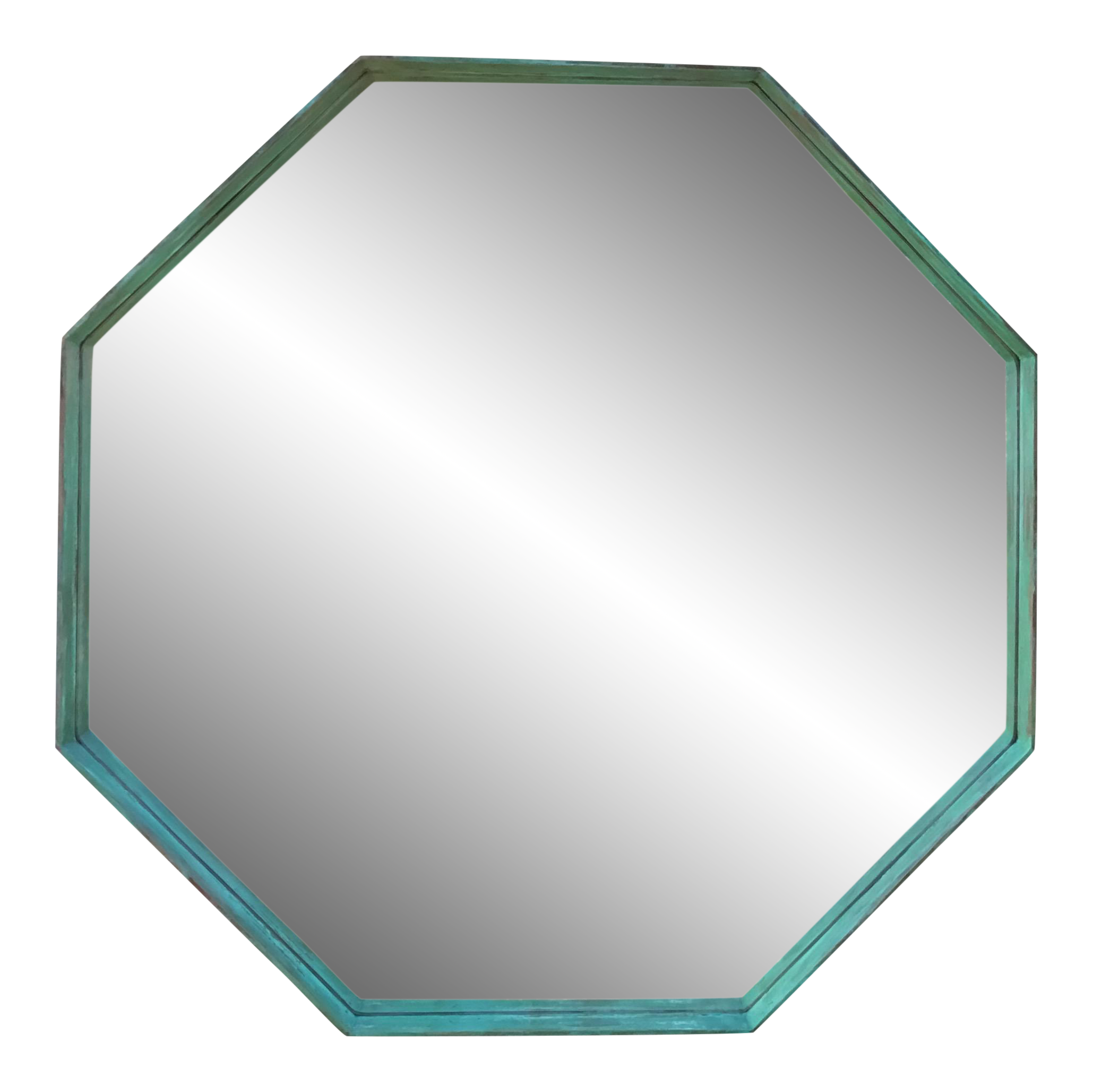 Architectural bronze hexagon chairish. Square clipart square mirror