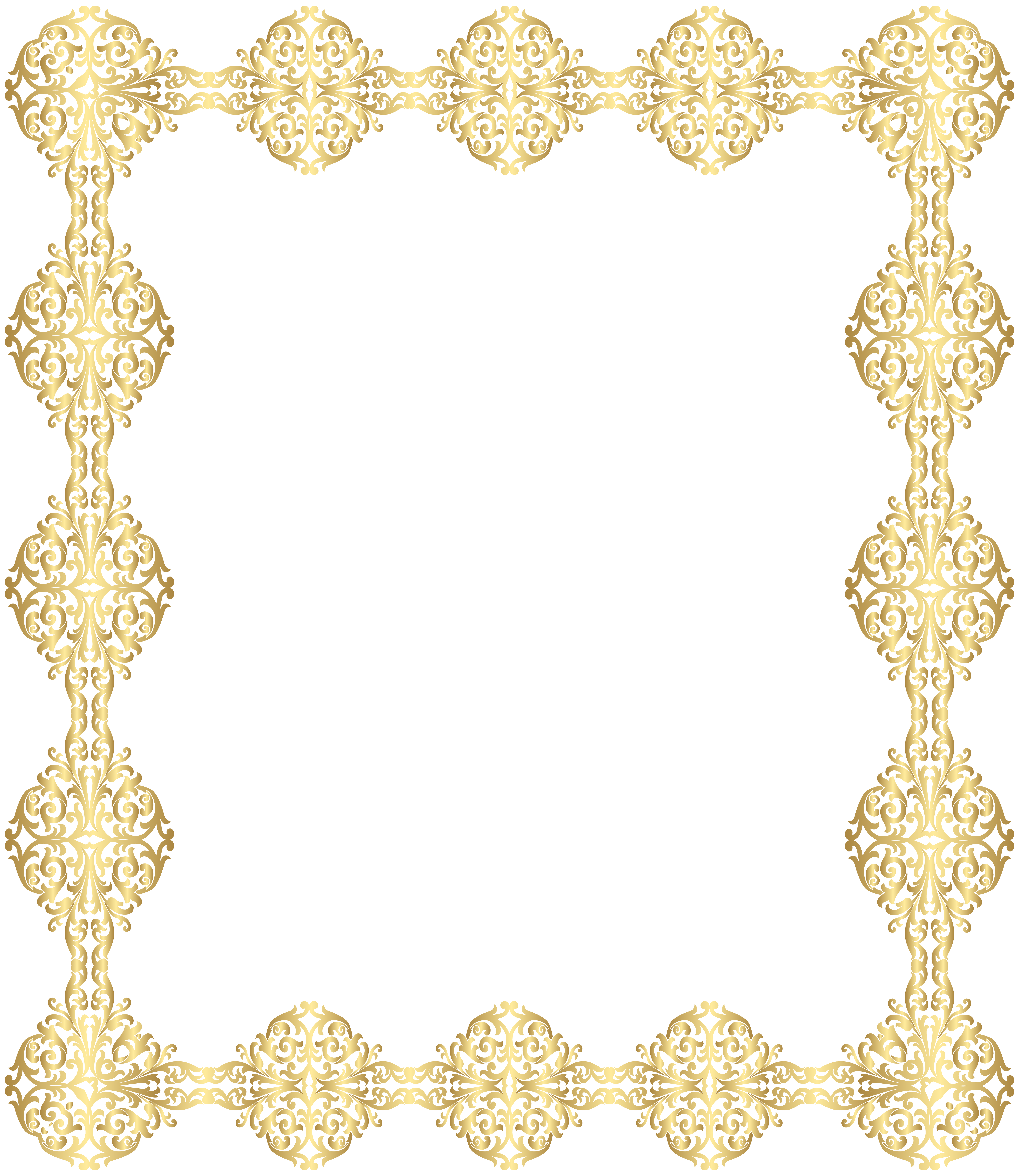 Golden border transparent png. Column clipart laurel