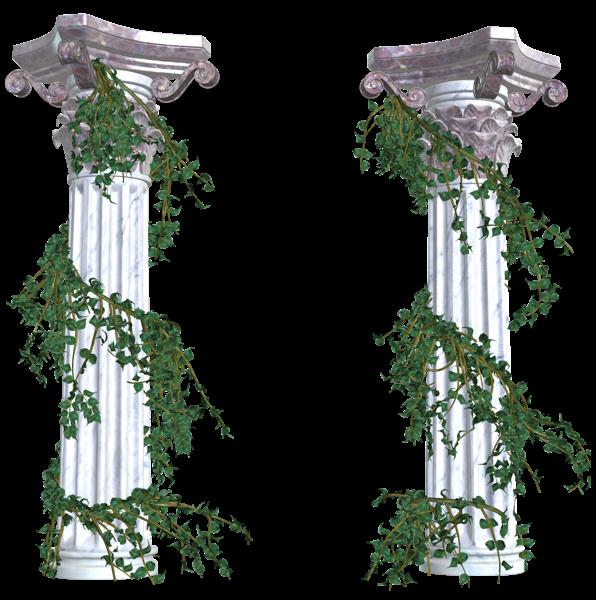 Pin by pirjo humpas. Column clipart leaf vine