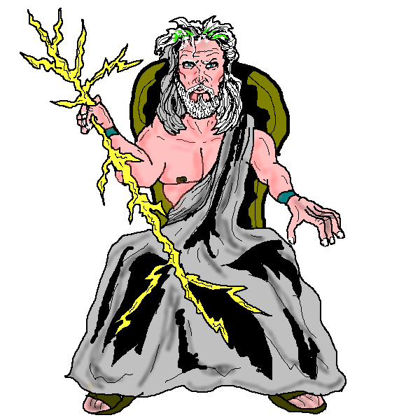collection of greek. God clipart gaea