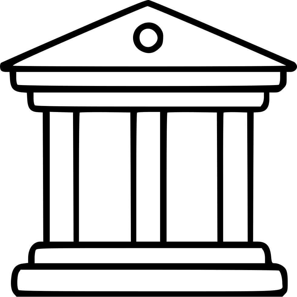 column clipart neoclassical
