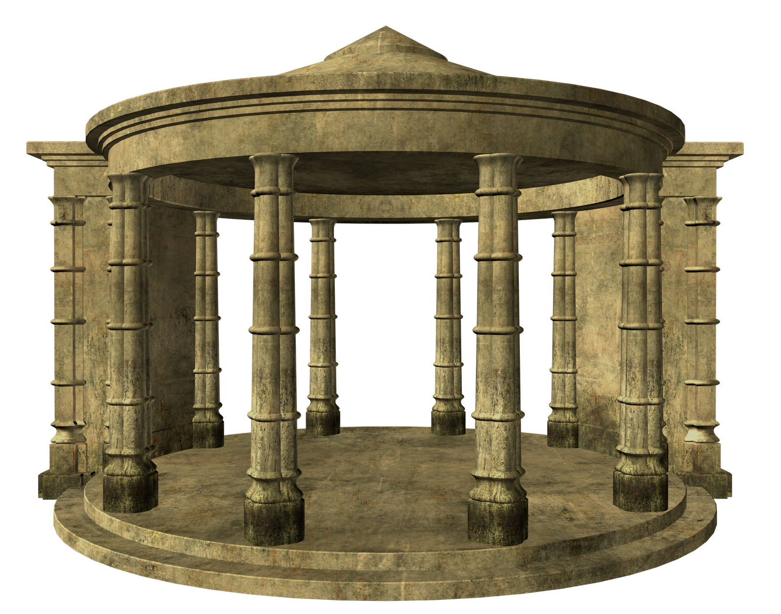 Colosseum ruins architecture clip. Column clipart old temple