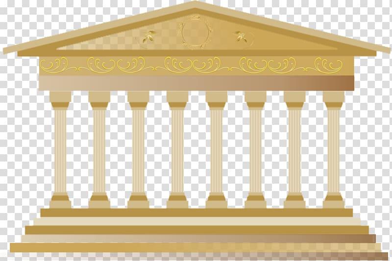 Column clipart old temple. Roman classical architecture ancient