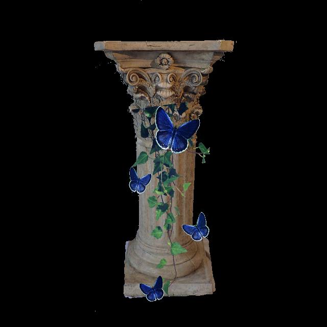 Column clipart pedestal. Pillar sticker by brandy