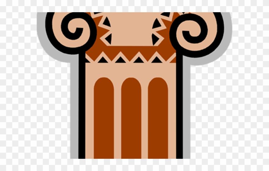 Columns illustration png download. Column clipart pedestal