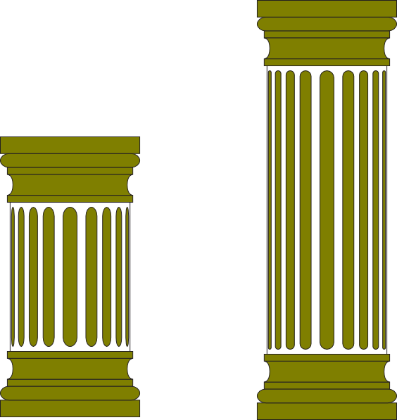 Greek clipart greek pillar. Clip art at clker