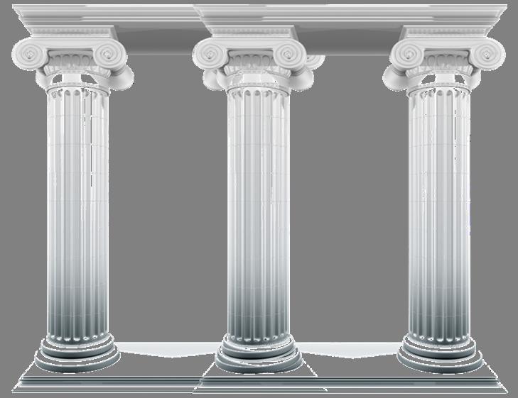 column clipart pillers