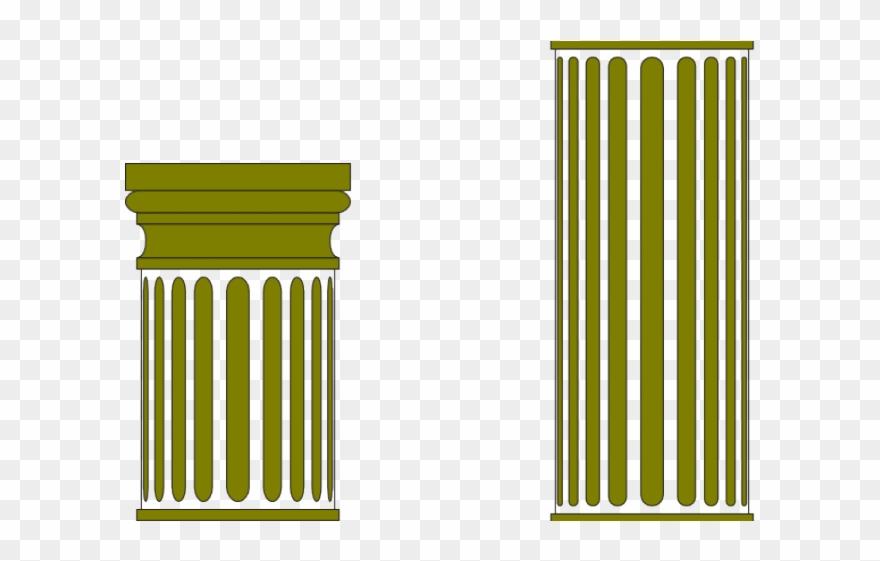 Columns pillar clip art. Column clipart pillers